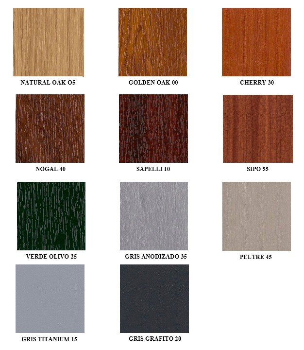 Ventanas pvc color madera images for Ventanas pvc color madera